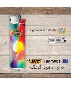 αναπτήρας BIC j23 Digital Lighter