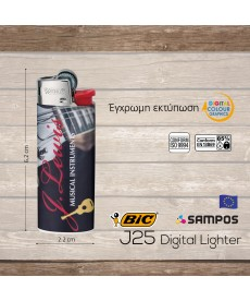 αναπτήρας BIC j25 Digital Lighter