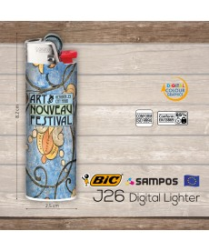 αναπτήρας BIC j26 Digital Lighter