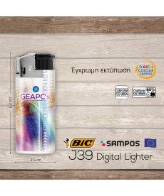 αναπτήρας BIC j39 Digital Lighter